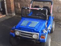 Raptor Electric Jeep