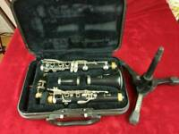 Clarinet yamaha ycl 250 with stand hercules