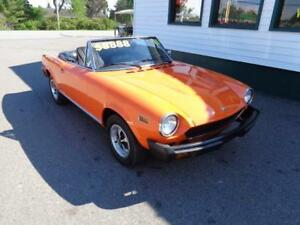 1978 Fiat Spider with 65000 original kms! ***NEW PRICE***