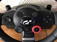 Logitech Driving Force GT Steering wheel £80 ono