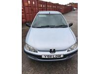 Peugeot 1.1 106 independence 2001 67k