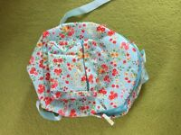 NEXT girls floral backpack NEW