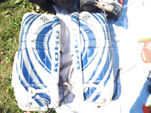 Ice Hockey Goalie Pads 22""