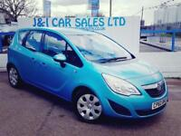 VAUXHALL MERIVA 1.7 EXCLUSIV CDTI 5d AUTO 99 BHP LOW FINANCE RATES (blue) 2010