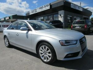 2014 Audi A4 Komfort, AWD, Leather, Sunroof,