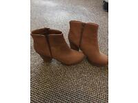 New look size 8 ankle boots