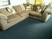 DFS sofa. Brown