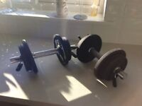 10kg dumbells