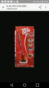 New Dirt Devil Easy Steam Mop Deluxe - PD20000B