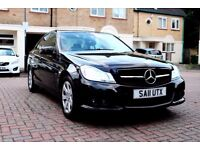 MERCEDES C200 CDI SE BLUE-EFFI AUTOMATIC 4 DR SALOON FSH HPI CLEAR UPGRADED AMG FRONT GRILL