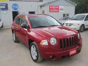 2009 Jeep Compass 4X4 NO ACCIDENTS  NO RUST ONE OWNER