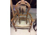 Chair Queen Anne style