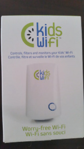 New Kids wifi simply plug in and protect.