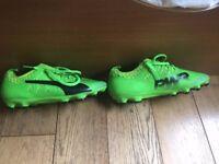 Puma EvoPower boots, size 7.5 UK