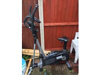 Exercise bike 2 in 1