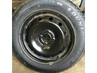 2003 Renault scenic steel wheel with brand new tyre 185 65 r15