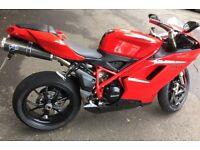 Ducati 848 Evo, Low Miles, Termi Exhaust, Possible Swap