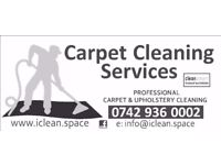 CARPET & UPHOLSTERY CLEANING PROFESSIONALLY