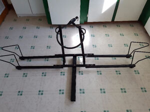 Bicycle Carrier Mounts on Trailer Hitch with Heavy Duty Lock