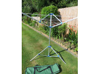 ROTARY CLOTHES LINE, IDEAL CAMPING, STUDENT, ETC