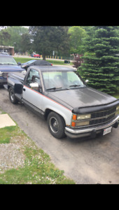 Lowered 90 step side Chevy
