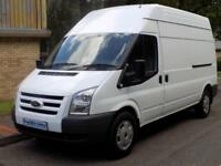 12(12) FORD TRANSIT 350 LWB HIGH ROOF 2.2 FWD 125 BHP 6 SPEED EURO 5