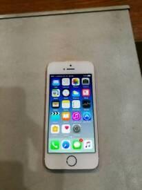 IPhone SE 16GB in Rose Gold Unlocked.