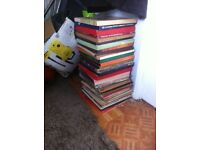 loads of albums and boxsets