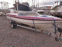 Speed boat with or with out dt85 power trim