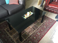 Black Coffee Table - FOR SALE