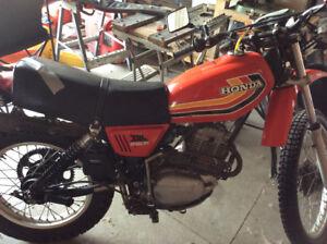 1978 Honda XL250R