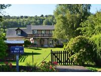 Beautiful Character 4 / 5 bedroom House sitting on the banks of a small river in Normandy, France