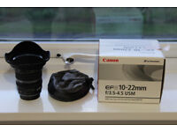 Canon EF-S 10-22mm in excellent condition