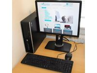 Core i3 Complete Windows 10 PC HP Compaq 8200 Elite Small Form Factor