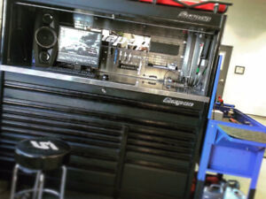 SnapOn Tool Box, Cart and Scanner