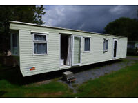 Pemberton 36 foot static caravan on site at Garth,Powys