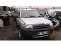 Land Rover Freelander 1.8 petrol 2002 breaking for parts