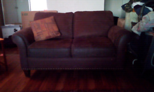 Gently used couch set !
