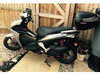Had from new, great cheap to run moped low mileage brand new top box, new back tyre just had MOT