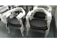 Vintage Wegner style Dining chairs!!!