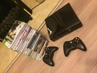 Xbox360 console + Kinect + 21 games