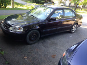 1999 Honda Civic Dx Berline