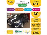 Ford Galaxy Zetec FROM £41 PER WEEK!