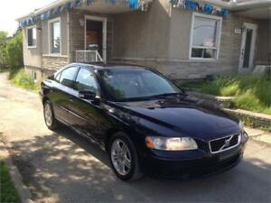 2008 Volvo S60 CUIC/MAGS/TOIT OUVRANT/148000KM WOW