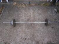 barbell 38.5kg