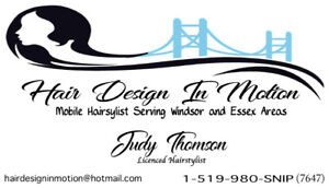 Mobile Hairstylist Taking New Clients Windsor & County