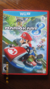 Mario Kart 8 Wii U still like new
