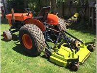 Compact mower