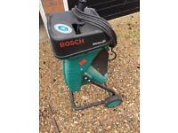 Bosch garden shredder