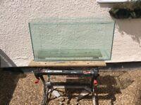All glass aquarium vivarium fish tank